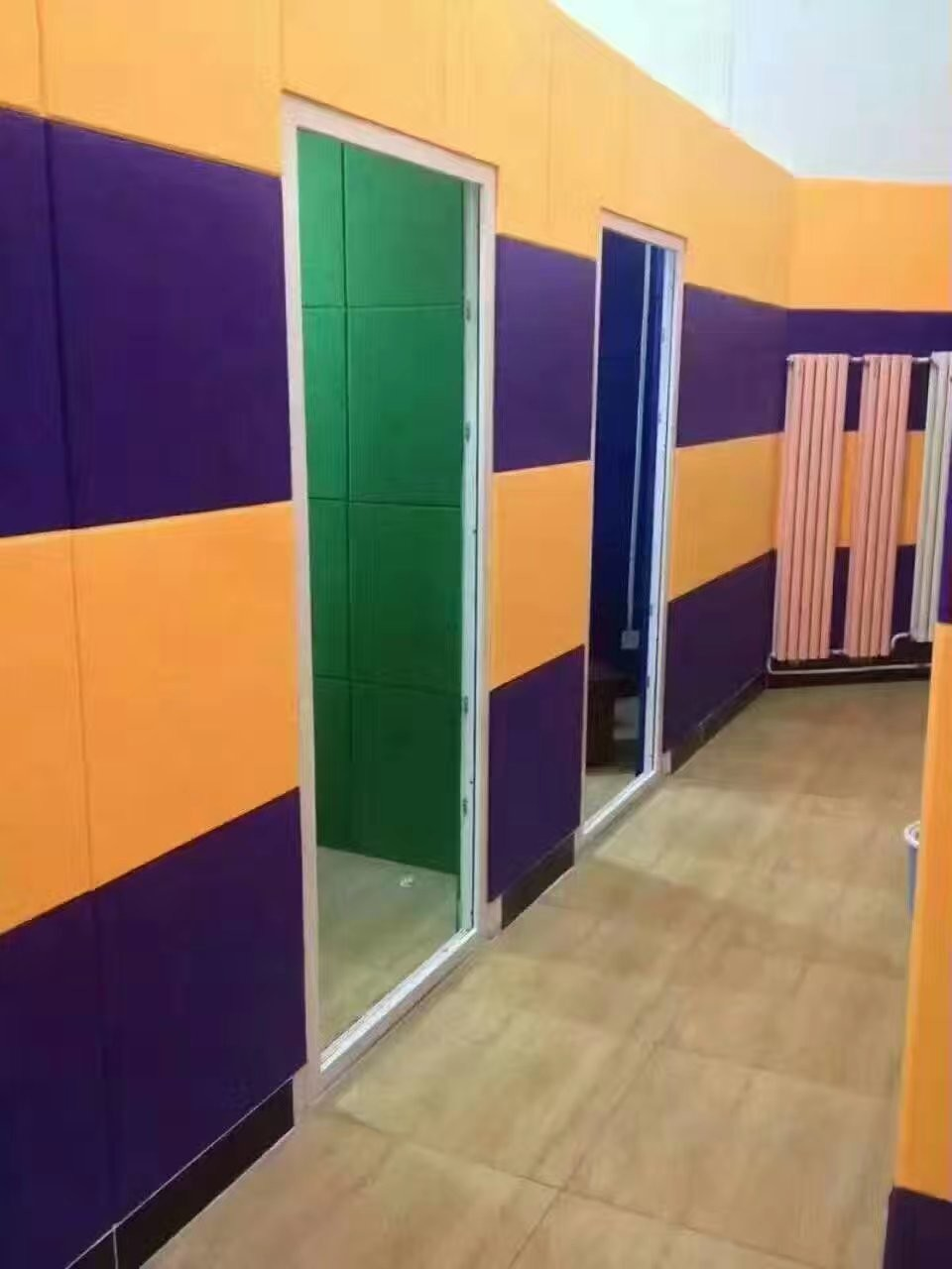 SGS Approval Polyester Fiber Sound Acoustic Panels For Interior Wall Panelings