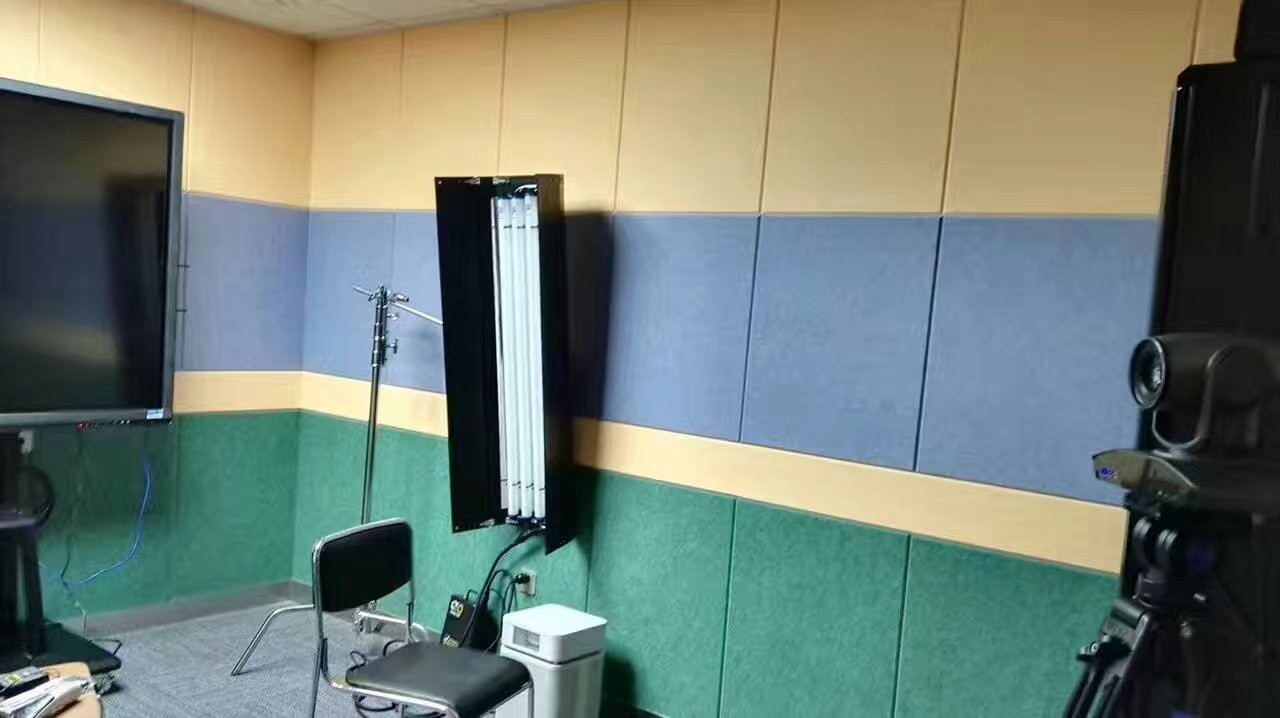 40% Low Melt Fiber Polyester Acoustic Wall Panels Fireproof Acoustic Sound Panels